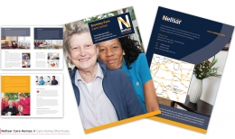 Sammakko Design delivered a brand new look for Nellsar's marketing materials